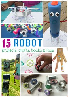 Learn more about robots with these fun and educational activities!