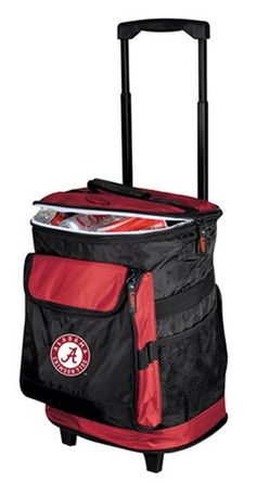 (click twice for best price and more info) Love College sports, Love Alabama Crimson Tide better! #Alamaba Rolling Cooler for our crazy fans. #roll_tide