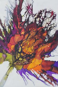 Alicia Tormey Encaustic Art Portfolio of Alicia Tormey Alcohol Ink Painting, Alcohol Ink Art, Kunst Portfolio, Encaustic Painting, Painting Abstract, Art Sketchbook, Artist Art, Painting Techniques, Painting Inspiration