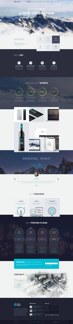 THEGEM - THEME on Behance