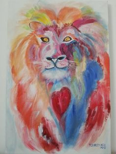 Lion by ArtePaint on Etsy
