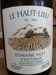 "Domaine Huet 2010 Vouvray Sec ""Le Haut Lieu"" wine pairing with Chef Mavro's Meli Melo of local vegetables"