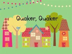 Quaker Quaker: Rhythm and Melody Slides for the Kodaly Classroom