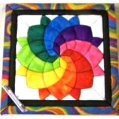 This is a fun one to change colors on and it is a very popular design. it is the 208 Blossom Kit. #funcrafts