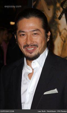 One of my FAVORITE actors ... Hiroyuki Sanada!  Brilliant ... and HOT!!!