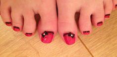 #nails #bows #bling #pretty