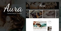 Aura - Personal Blog PSD Template focused on Blogger, Traveler, Photographer needs with PSD Files . Aura is personal blog template, that perfectly fits for any blogger needs. Aura clean & balanced layout make it best choice for bloggers.