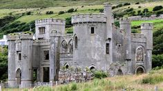 The Ruined Gothic Revival Style Manor 'Clifden Castle' of Ireland Castle Clifden Manor The abandoned Clifden Castle can be found near the sea just off of Sky Road, in the Connemara Region of County Galway, Ireland.