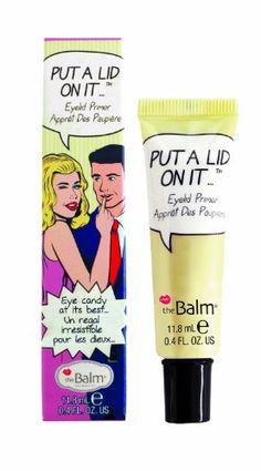 The Balm Put A Lid On It Eye Makeup Primer, .3 Ounce - List price: $18.00 Price: $13.59 Saving: $4.41 (24%)