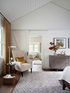 Adding a chair, a sofa or even a bench to your master suite can create a multifunctional space you'll be happy to retreat to at the end of a busy day.