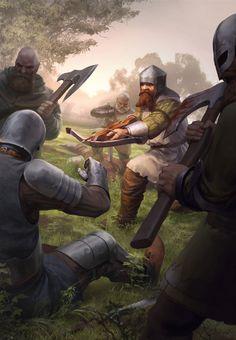 Dwarven mercenary The Witcher 3 Wild Hunt / Gwent Card. Fantasy Warrior, Fantasy Rpg, Medieval Fantasy, Fantasy Books, Fantasy Artwork, Fantasy World, Fantasy Characters, The Witcher, Witcher Art