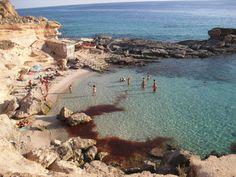 Beach Calo des Mort, Formentera