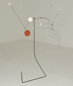 Alexander Calder, Snow Flakes and Red Stop, 1964. The Leonard and Ruth Horwich Family Loan