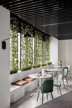 Un mur végétal : l'astuce déco pour un design organique réussi ! #mur #végétal #design #organique #RHINOV