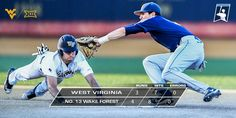 The No. 2-seed West Virginia University baseball team lost to top-seeded and No. 13-ranked Wake Forest on Saturday afternoon in the second game of the NCAA Tournament.