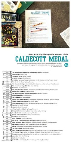 Caldecott Medal Reading List {Awesome idea for summer reading challenge for the whole family!}