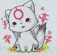 Custom Premium Custom Okamiden Okami Wolf Kawaii Chibiterasu Shirt T-Shirt Tee merchandise gear poster dvd keychain figure soundtrack plush bag