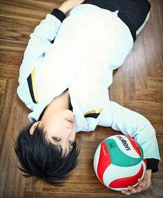 Shovi(Hard Ryo) Keiji Akaashi Cosplay Photo - WorldCosplay