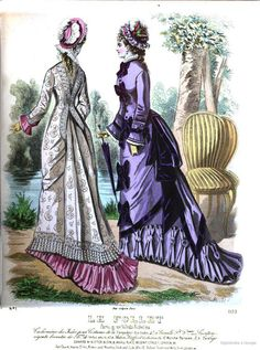 Fashion Tips You Definitely Have To Read. Do you know absolutely nothing about style? No matter what your answer, you can always learn more about fashion. Victorian Era Fashion, 1870s Fashion, Vintage Fashion, Victorian Dresses, Women's Fashion, Ladies Fashion, Fashion History, Vintage Clothing, Fashion Ideas