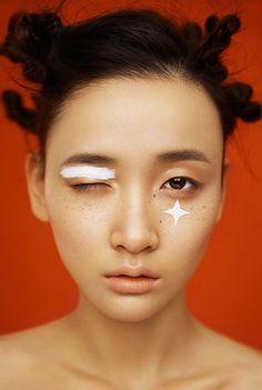 A mixture of macabre fashion, nature and me. Makeup Inspo, Makeup Art, Makeup Inspiration, Beauty Makeup, Eye Makeup, Hair Makeup, Hair Beauty, Eyeline Makeup, Asian Makeup