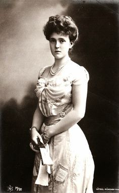 THE PRINCESS H.R.H. Princess Marie Gabrielle of Bavaria, née Duchess in Bavaria (1878-1912)