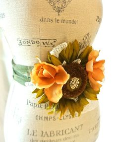 Autumn sunflower belt country chic sash by TrueRebelClothing, $40.00