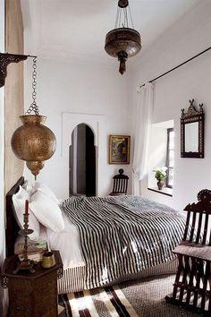 moroccan bedroom decor. / sfgirlbybay