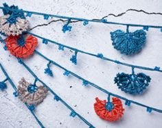 the length is around 330 cm = 129.92 30 flowers  Oya (Turkish needle lace) is a traditional Turkish handicraft mainly used as the edging for headscarves (Yazma). This necklace is a nice example of adopting this centuries old Turkish art into modern life. The three dimensonal lace work will look like a flower bouqet on your neck.  Dry clean only.  One necklace takes almost one and a half day to finish.  FAST WORLDWIDE SHIPMENT with UPS, almost within 3 to 9 working days.  Please contact m...