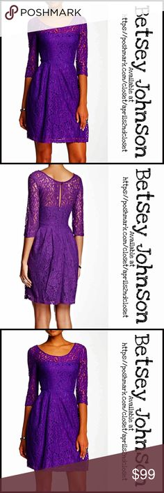 ⭐️❤️ BETSEY JOHNSON DRESS Lace Overlay A-Line **Additional Details & Photos will be added soon** NEW WITH TAGS RETAIL PRICE: $150  ITEM:   *   *   *   *   *   *    Material:  Color:  Item#:   No Trades ✅ Offers Considered*✅ *Please use the blue 'offer' button to submit an offer Betsey Johnson Dresses Long Sleeve