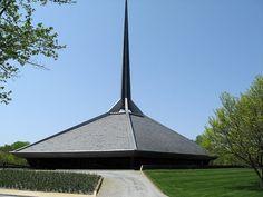 North Christian church...A homewtown wonder designed by Eero Saarinen.