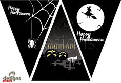 Odesigns Studio: Free Monday Printable Halloween Banner