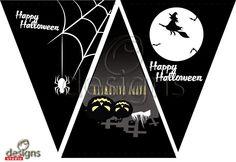 Odesigns Studio: Free Monday Printable Halloween Banner
