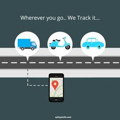 Turn your Smartphone into live #GPS #Vehicle #Tracker. our Affordable Software allows to track your vehicles wherever you go.  For more visit us at : https://www.sathyainfo.com/smarterping/