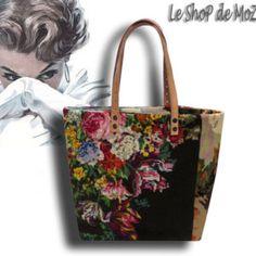 Le Jill, A French Tapestry Purse, Canvas Handbag