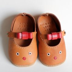 Handmade Leather Baby Shoes C by cowrice on Etsy