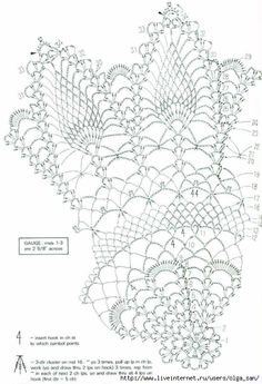 Page 2 of 3 *Pineapple Doily (Advanced pattern) Filet Crochet, Crochet Doily Diagram, Crochet Pillow Pattern, Crochet Doily Patterns, Thread Crochet, Knit Crochet, Art Du Fil, Crochet Dollies, Pineapple Crochet