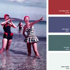 1958 | 16 Beautiful Color Palettes Inspired By Retro Fashion