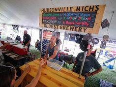 Michigan Brewer's Guild Summer Beer Festival 2015 in Ypsilanti.