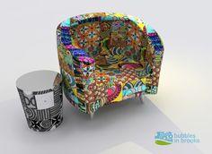 Ankara material sofa