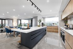 Kitchen // Visit the Designer by Metricon Berkshire display in Kialla, VIC.