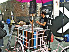 La Gelatiera al Boxpark - 4.08.13 - Shoreditch, London - Fabio Fiusco