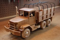 Deuce and a Half Army Truck - by WoodScrap @ LumberJocks.com ~ woodworking community