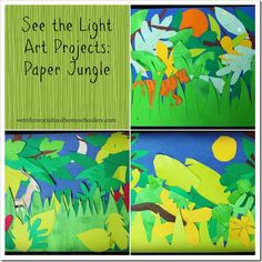 Paper Jungle Art Project ideas - Inspiration for A Child's Intro to Art project (page 61)