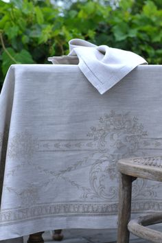 French Melody Natural Linen Tablecloth 100% linen. Linen is one of the oldest…