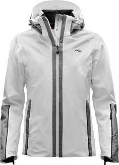 "Sport Conrad - <span class=""brand"">Kjus</span> Relief  Skijacke White/Grey-Melange Damen"