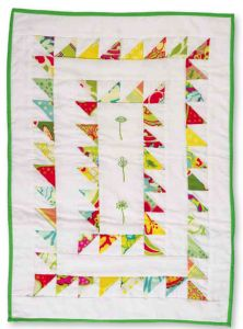 I have been wanting to branch out in quilting and try TRIANGLES! I think this is a great pattern to start with!