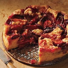 Plum Kuchen | Almost any slightly firm plum will work in this lovely cake. In fact, we prefer a mix of black, red, and yellow fruit for contrasting flavor and color.