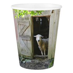 Adorable Sheep Paper Cup
