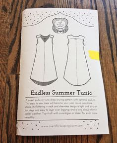 Fancy Tiger Crafts: Jaime's Endless Summer Tunic