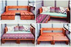 Tolle DIY Idee für Balkonmöbel Mehr